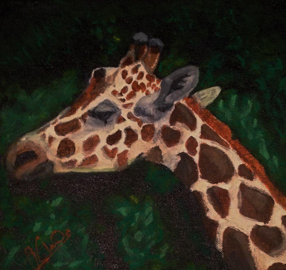 peinture acrylic sur toile