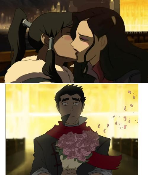 Who is korra dating