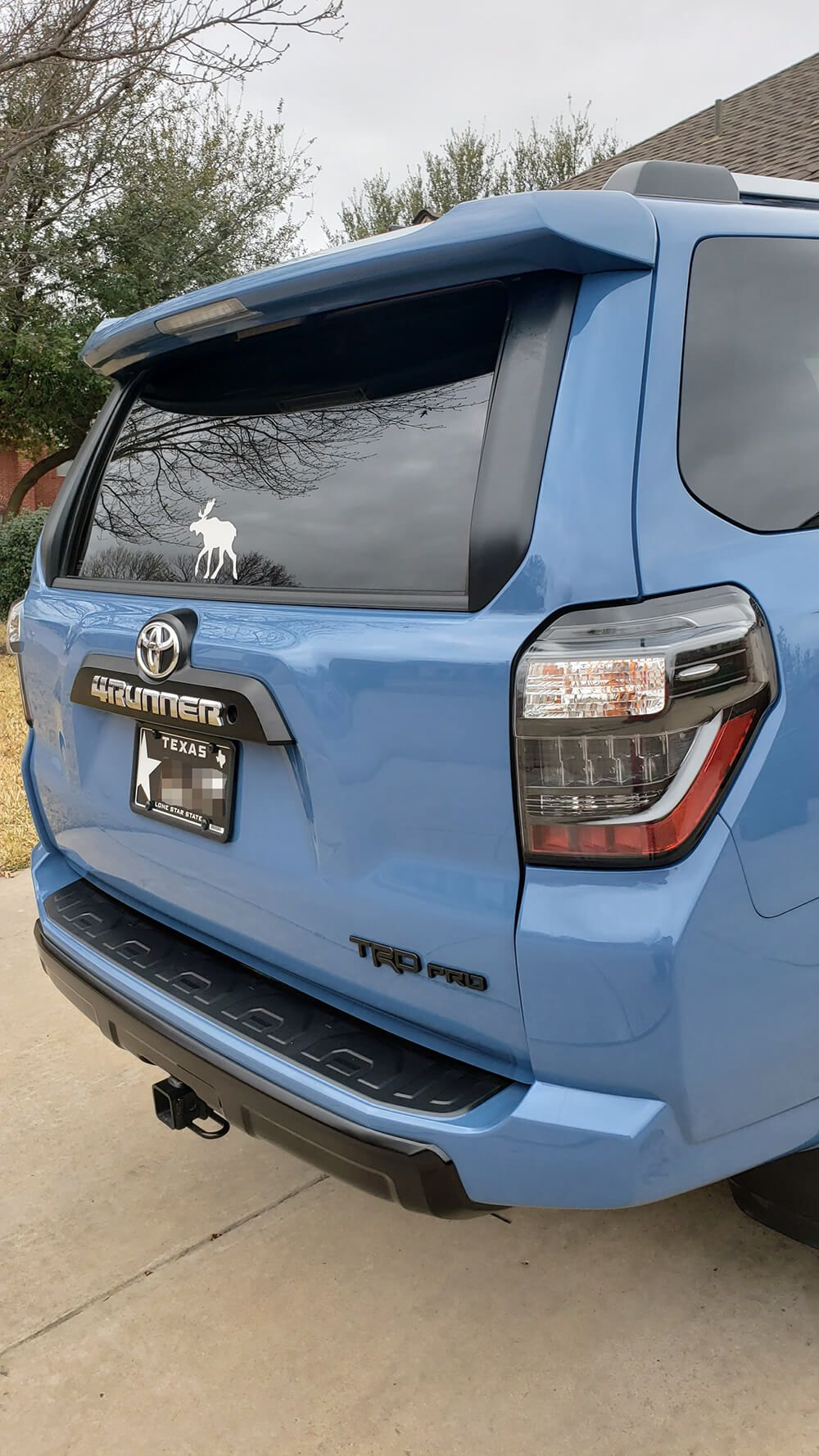 Blacked Out Tail Lights On 5th Gen 4runner By Unique Style Racing 4runner Tail Light Unique Style