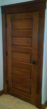 Delicieux Horizontal 5 Panel Poplar Wood Door   Traditional   Hall   Other Metro    Homestead Doors, Inc.