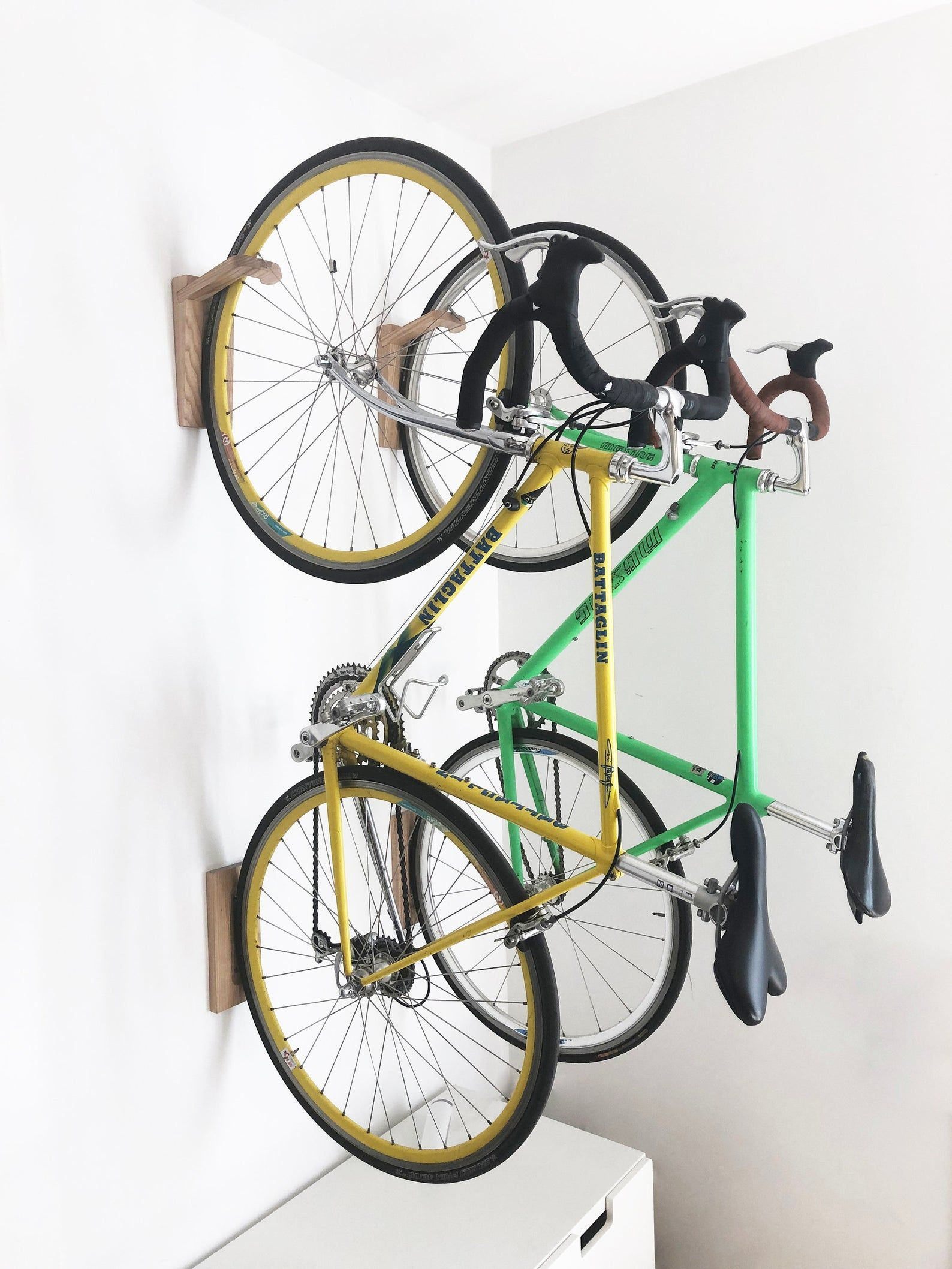 Tokyo Bike Rack Wall Mount Wooden Wall Hook Bike Storage Etsy In 2020 Bike Rack Wall Bike Wall Mount Bike Rack