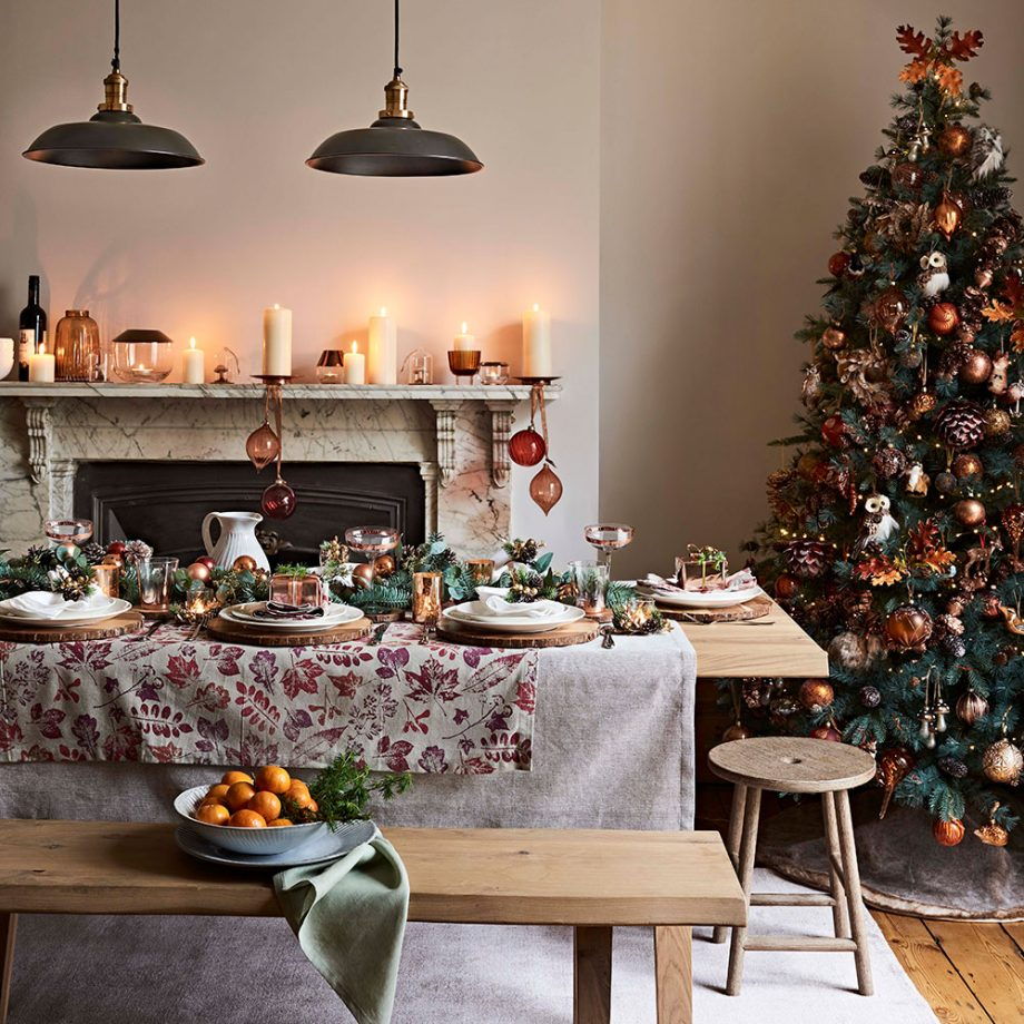 According to John Lewis, sales of Christmas table