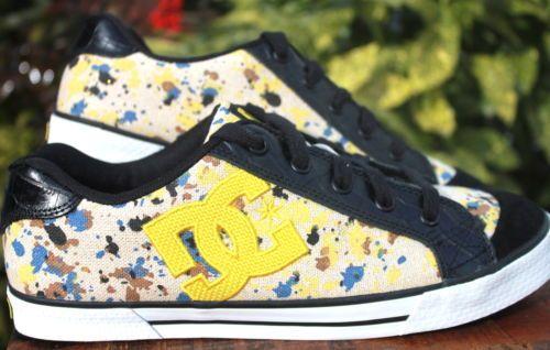 dc chelsea black yellow blue paint splatter women athletic skate rh pinterest com Splatter Paint Glass Splatter Paint Glass