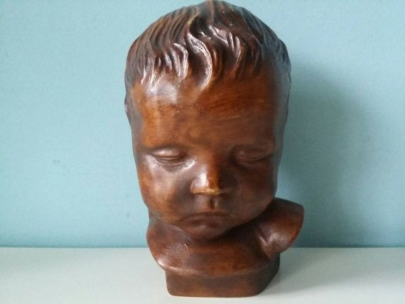 Bekijk dit items in mijn Etsy shop https://www.etsy.com/nl/listing/267625191/resin-child-head-bust