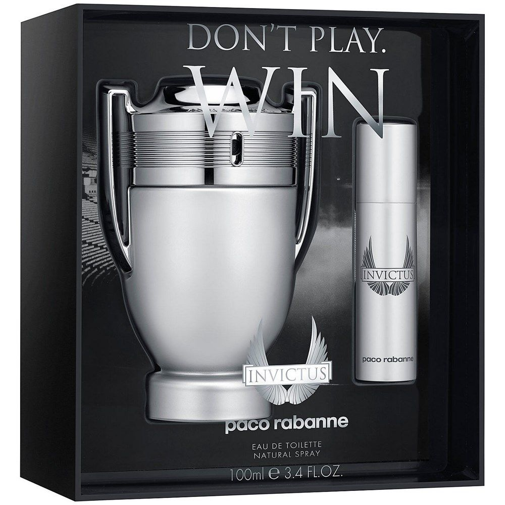 Buy Paco Rabanne Invictus Edt Men 100 Ml 10 Ml Gift Set Online In