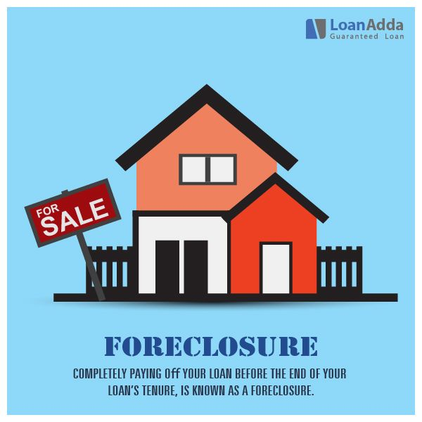 Foreclosure Completely Paying Off Your Loan Before The End Of Your Loan S Tenure Is Known As A Foreclosure Business Loans Guaranteed Loan Loan