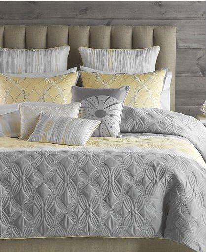 Grey And Yellow Bedspread Bryan Keith Tango Grey Yellow White 7