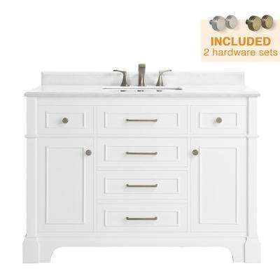 Home Decorators Collection Melpark 48 In W X 22 In D Bath Vanity