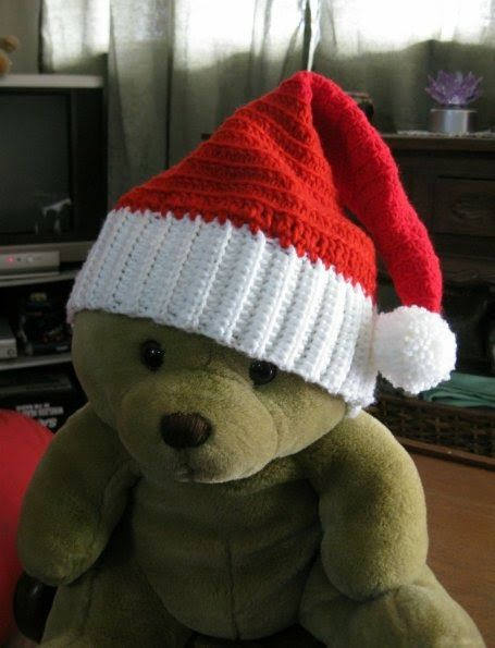 Crochet and Other Stuff: Crochet a Santa Hat - free pattern ...