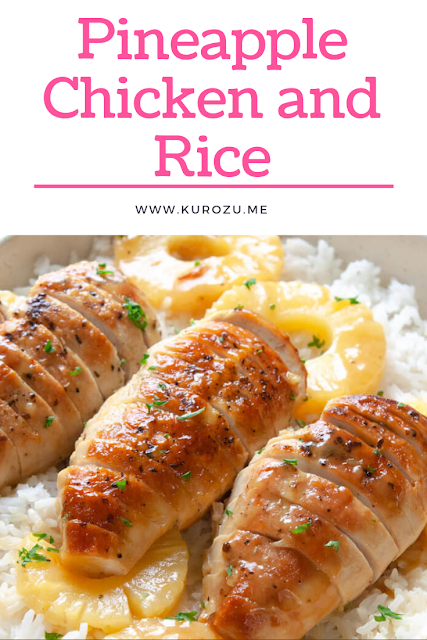 Pineapple Chicken and Rice images
