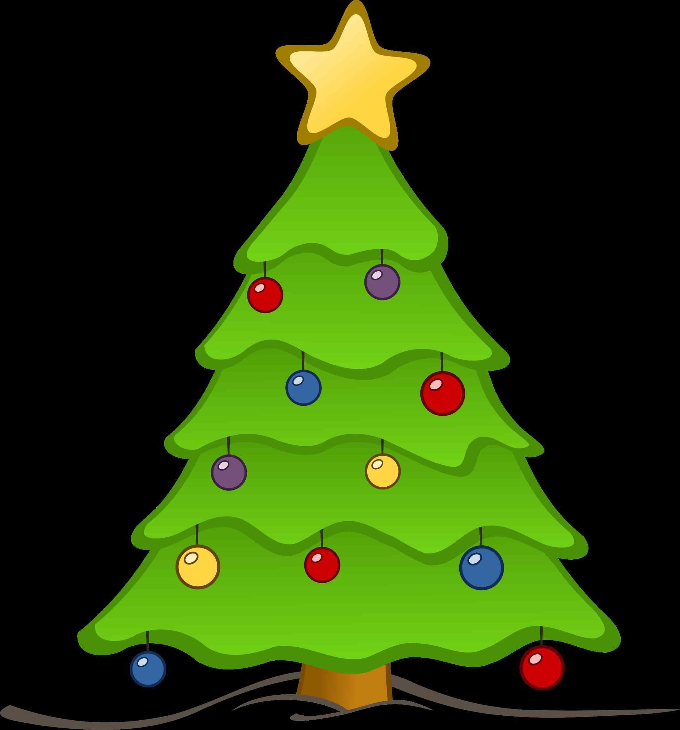5 Lovely Christmas Tree Clipart Transparent Background Prekhome Christmas Tree Clipart Christmas Tree Images Cute Christmas Tree