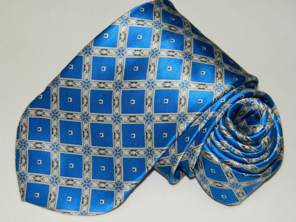 bdb80de06dd2 Men's Authentic Dolcepunta Blue 100%Silk Neck Tie made in Italy #fashion  #clothing