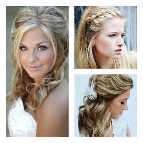 15 Hairstyles For Country Girl Weddings images