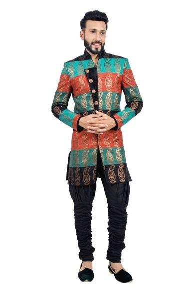 d09106f4f29fc Select wide range of Indo western dresses for men online. We offer ...