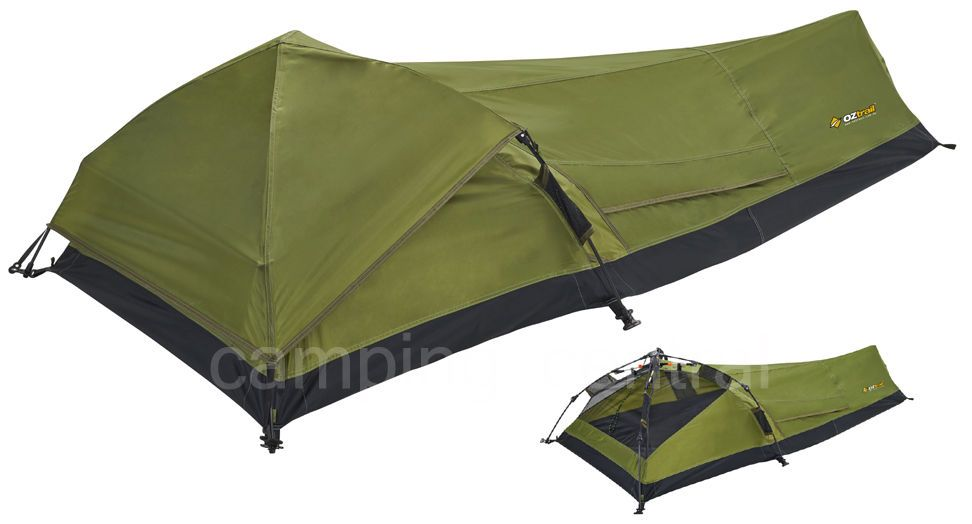 Bivy tent  sc 1 st  Pinterest & Oztrail swift pitch bivy instant quick light compact hiking tent ...