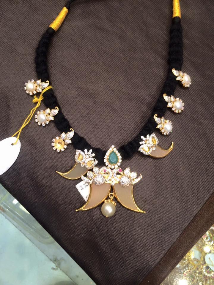 black dori necklace sDeepika dks Pinboard trails ~*~