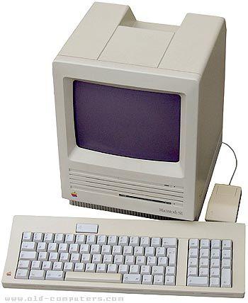 Apple Macintosh SE (20MB hard drive) - my high school graduation ...