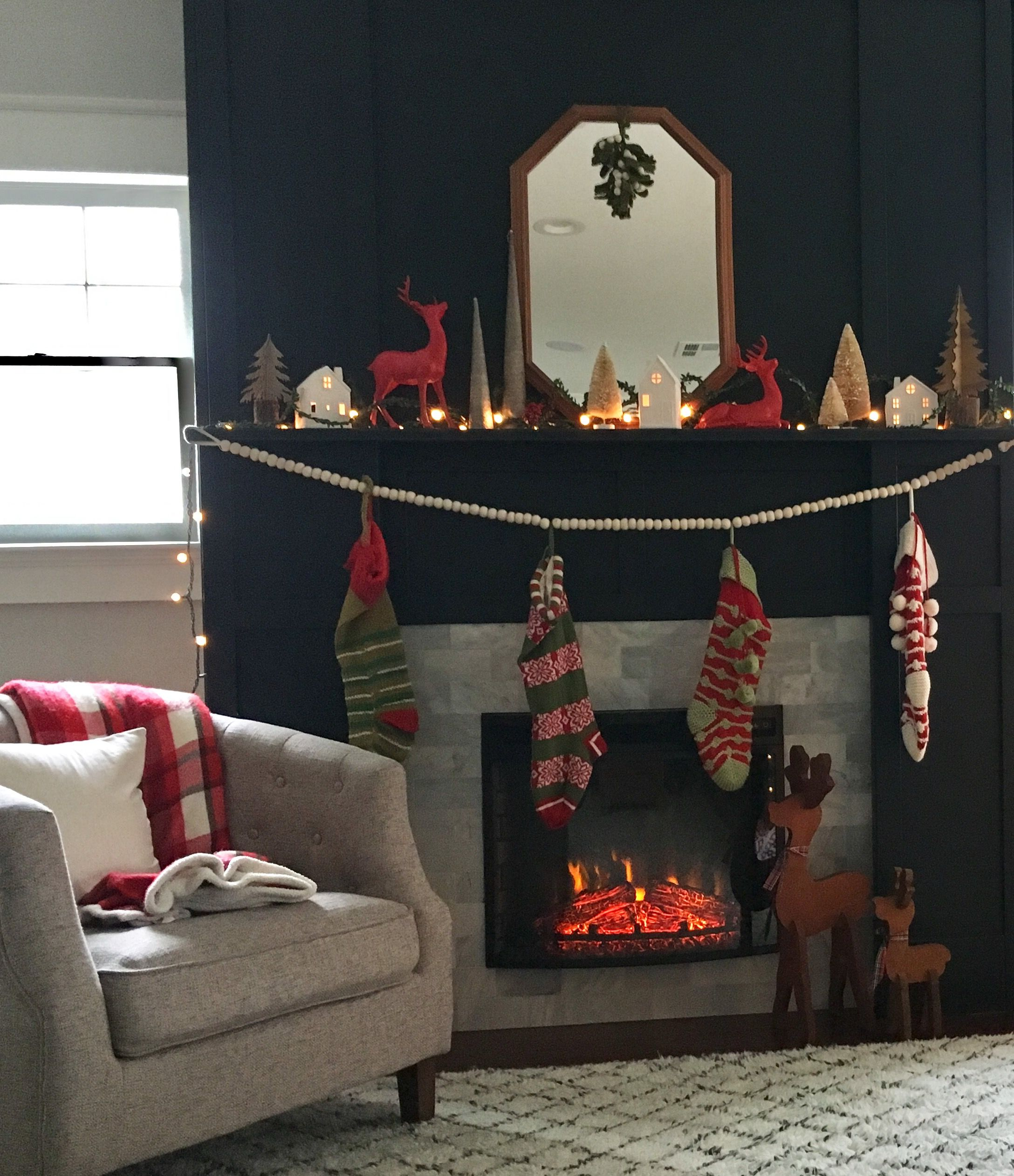 How Can You Not Love This Magical Christmas Mantle Follow