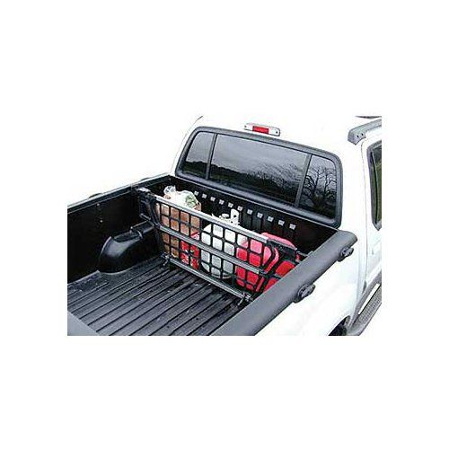 Cargo Bed Gate For Gmc Sierra 1999 2017 Adjustable Width 62 65 1 2 Height 19 1 2 Chevrolet Colorado Pickup Trucks Bed Truck Cargo