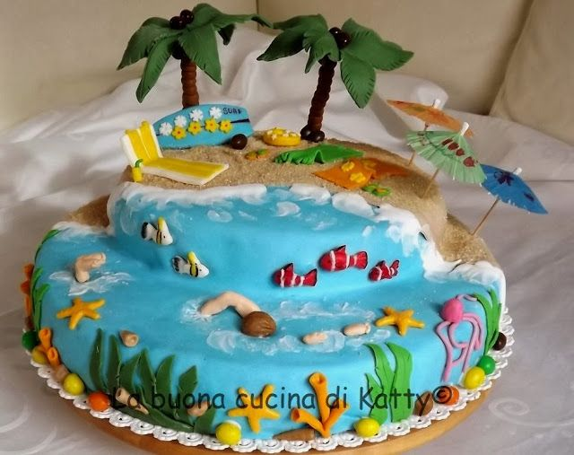 La buona cucina di katty torta beach holiday my torte - La cucina di sara torte ...