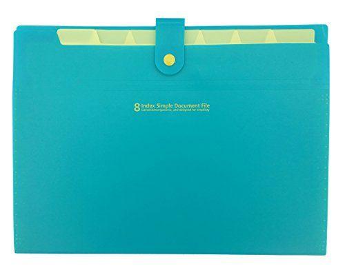 School Folders Itoolai Plastic Folder With Pockets 8 Sec