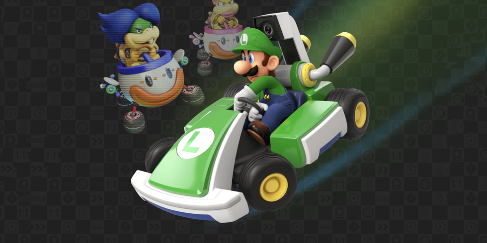 Mario Kart Live Turns Your House Into A Racetrack Mario Kart Super Mario Kart Mario