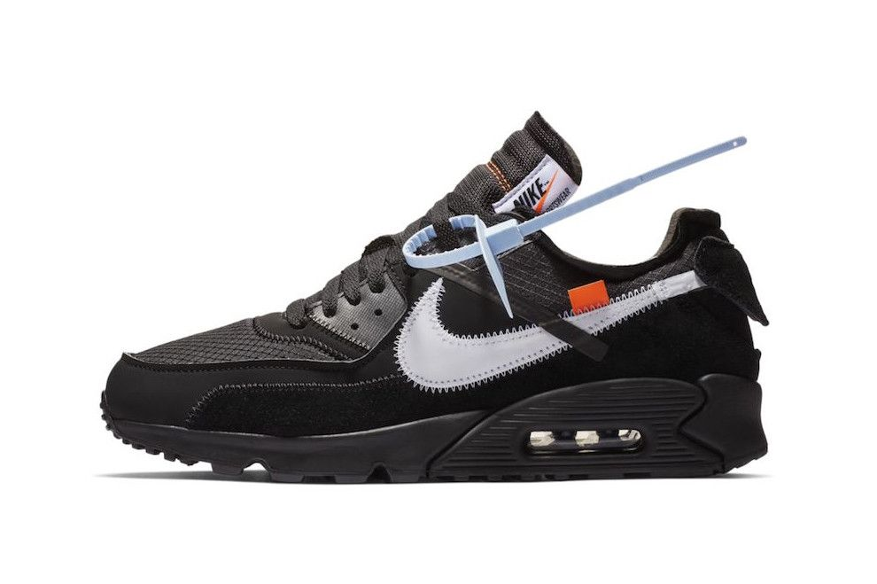 bb1f9152 Off-White™ x Nike Air Max 90 Now Available at StockX desert ore black