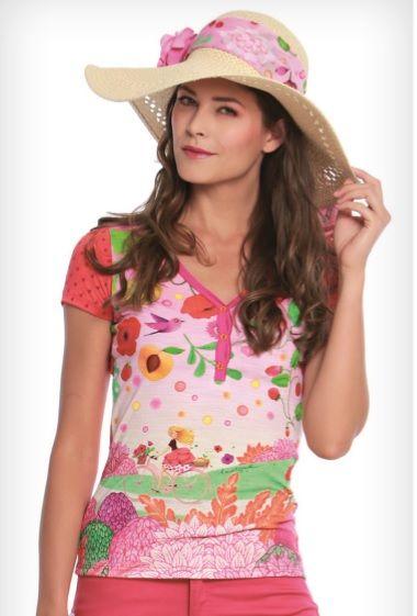 Tee-shirt DOLCE motif Elixir d'été