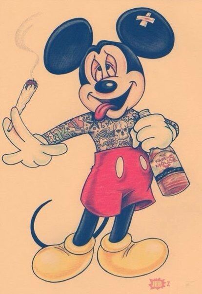 Mickey you are not the one I remember