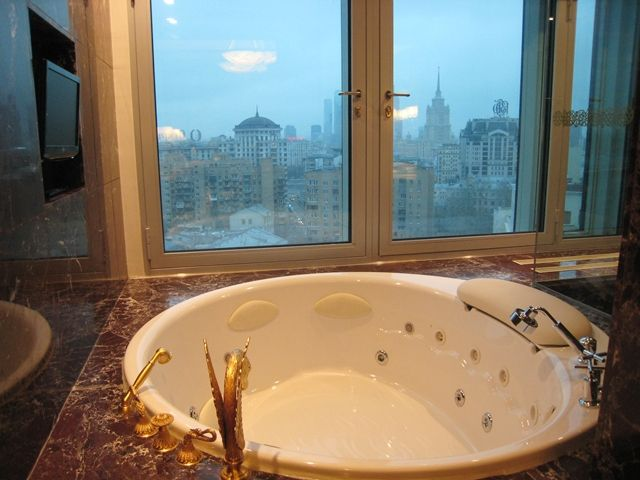 Jacuzzi In The Royal Suite Lotte Hotel Moscow Hotel Luxury