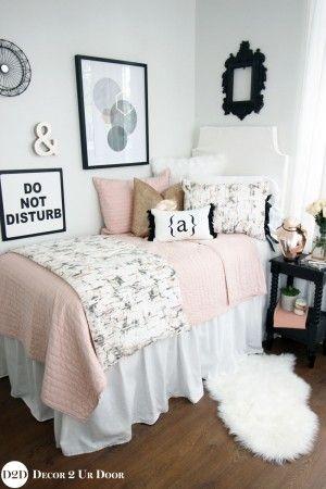 Unique Black Marble Bedroom Set