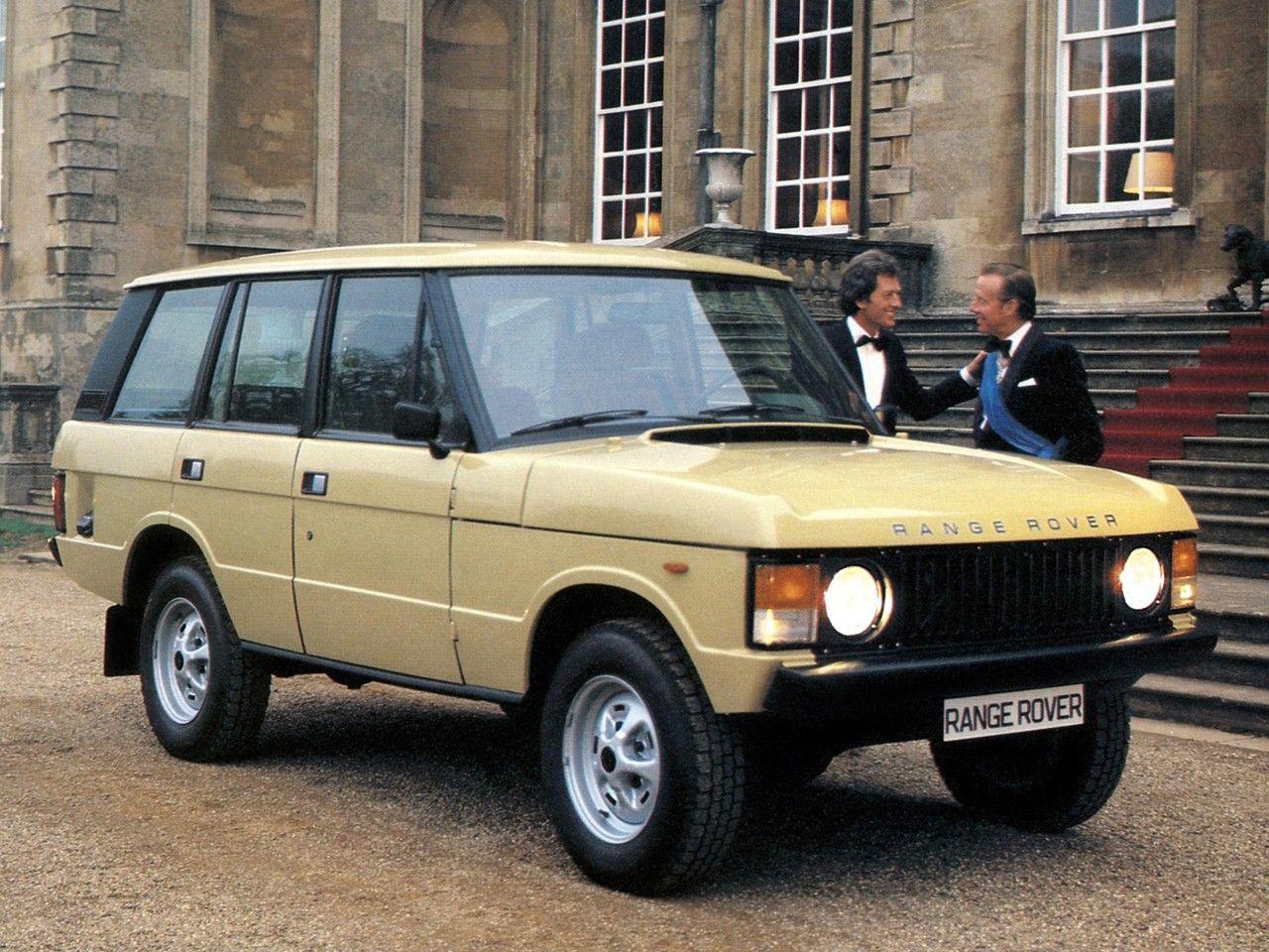 Range Rover 5 Door Worldwide 1981 86 Range Rover Range Rover Classic Range Rover Supercharged