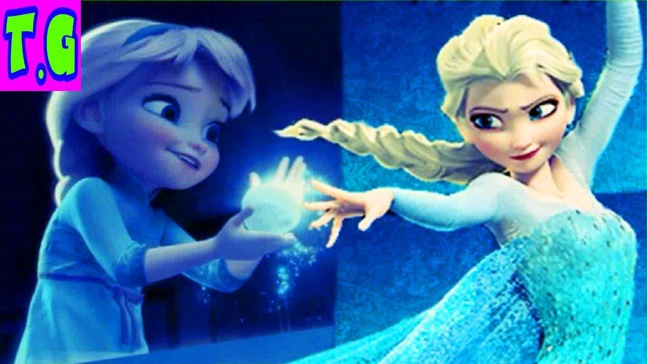 TRY NOT TO LAUGH!!! Disney Frozen Princess mom ELSA and Baby ANA ...