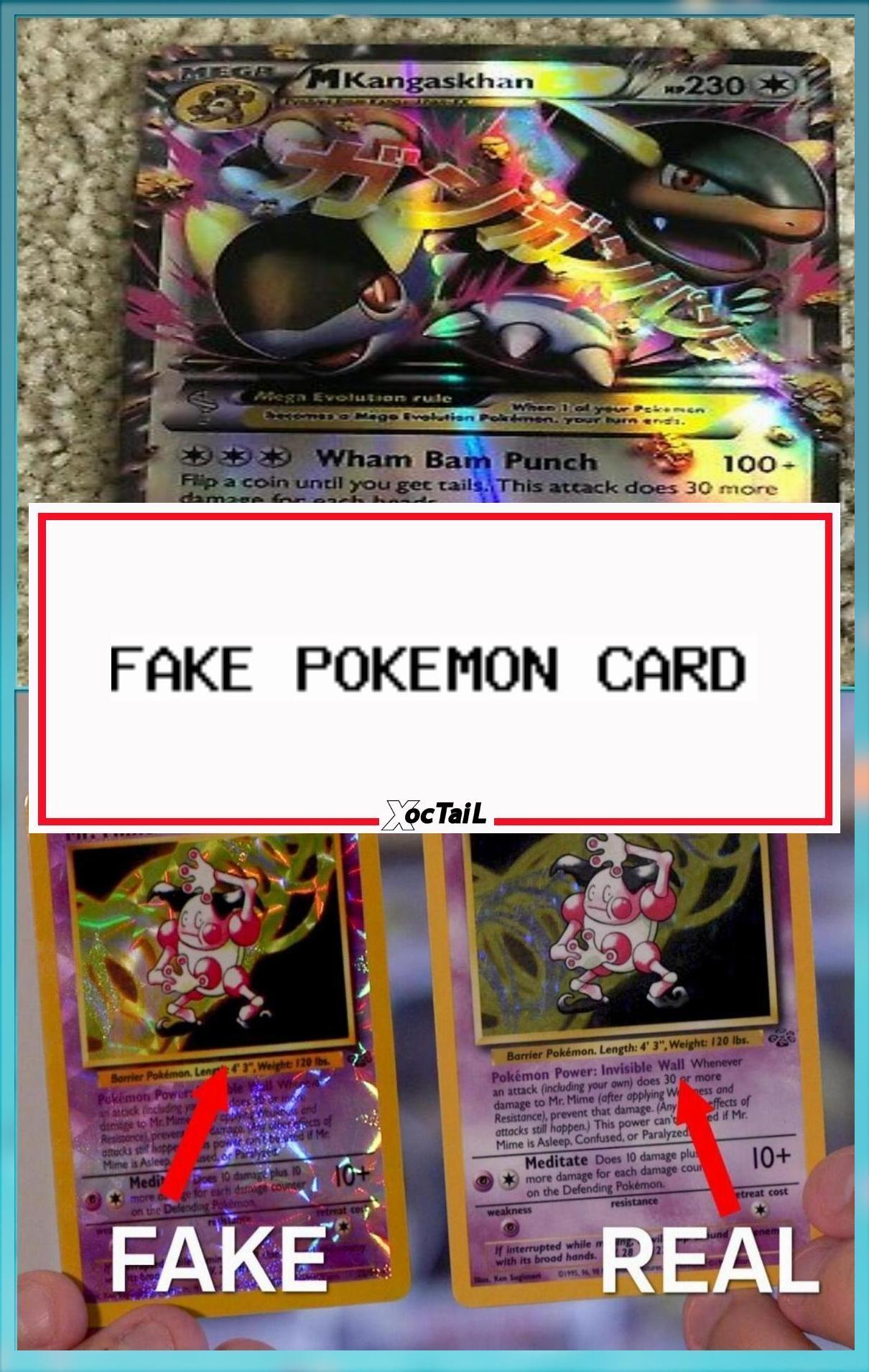 Fake Pokemon Card Mega Kangaskhan Ex 79 106 Replica In 2020 Pokemon Cards Fake Pokemon Cards Pokemon