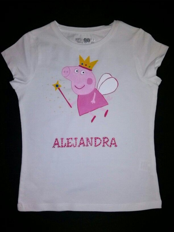 Ropa, calzado y complementos Peppa Pig Flamingo Camiseta Mangas Largas Camisas, camisetas y tops