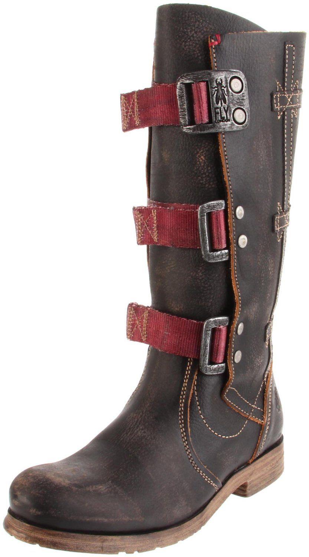 london fly  swipe knee high boot   amazon.com