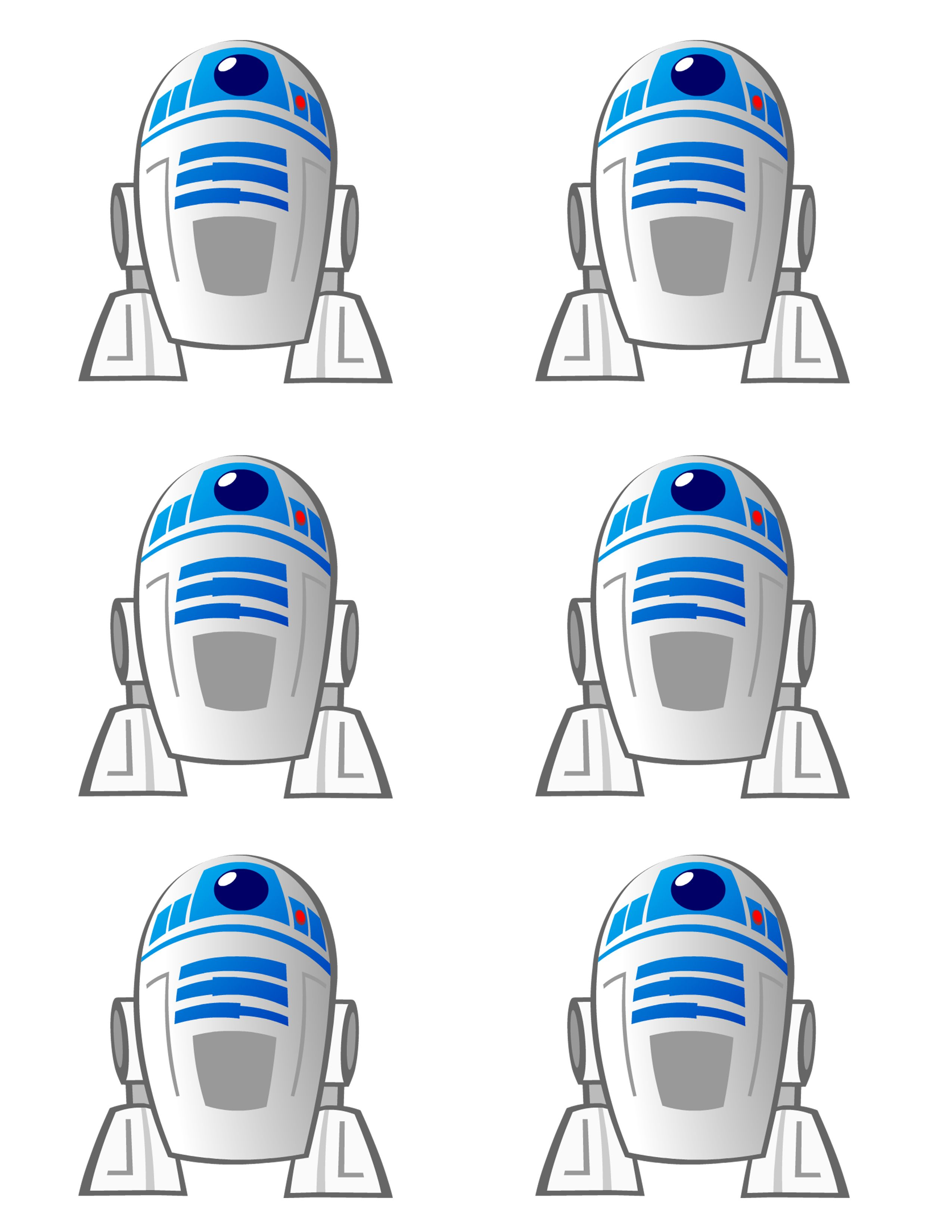 how to make r2 d2 star wars chocolates chocolate template