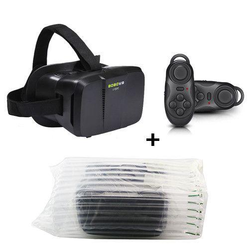 BOBOVR Z2 Virtual Reality 3D VR Glasses Google Cardboard Oculus Rift VR BOX Helmet Headset for 4~6'Phone + Remote Controller
