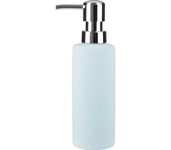 Seifenspender aus Keramik in Blau - schlicht und praktisch fürs Bad