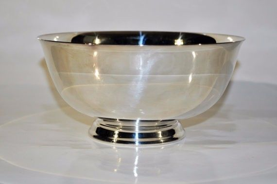 Reed And Barton Paul Revere 8 Inch Silver Plated Bowl 100 Year