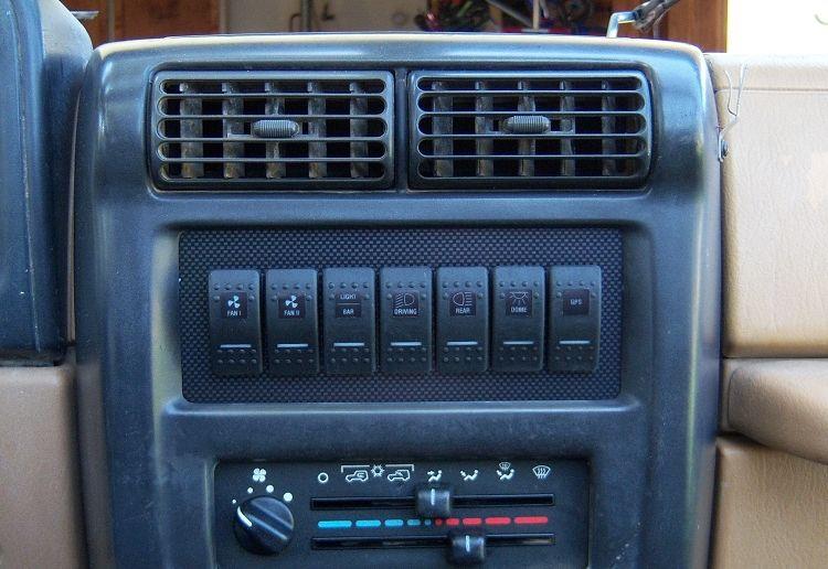 Jeep TJ Radio Delete Switch Panel (Empty)   Jeep   Jeep, Jeep tj, Jeep Accessories
