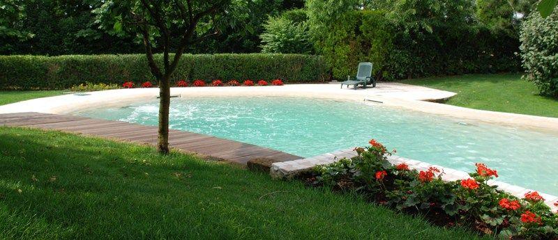 Biodesign Pool Modelliert Garten Pool Selber Bauen Gartengestaltung Poolbau