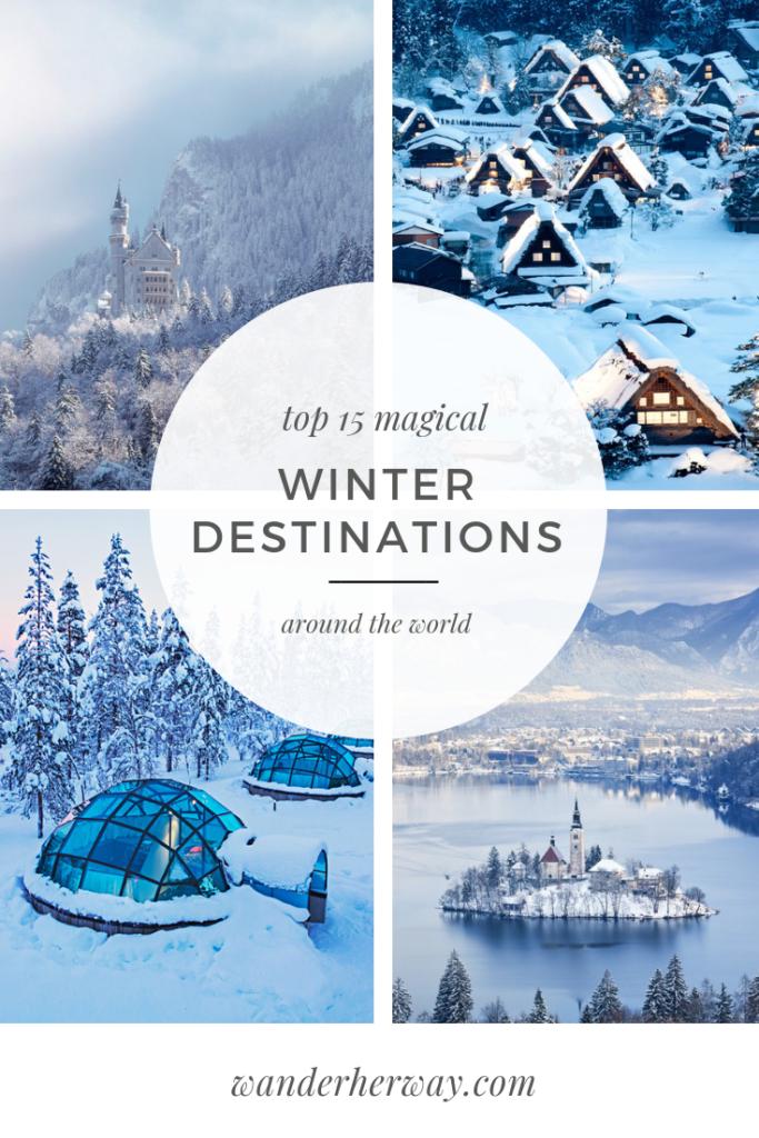 Photo of 15 Winter Wonderland Destinations Around the World – Wander Her Way