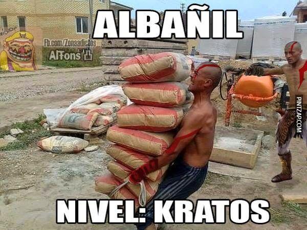 Albañil Kratos