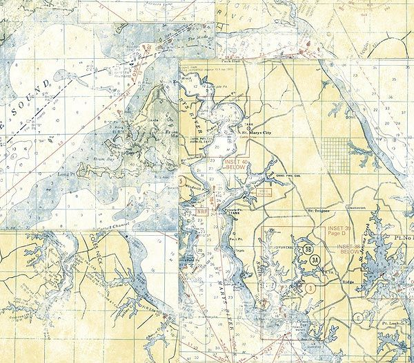Vintage map wallpaper americanblinds wallpaper pinterest ivory nautical map wallpaper by wallquest novelty wallpaper themes of life ii shop wallcovering by collection interior design gumiabroncs Image collections