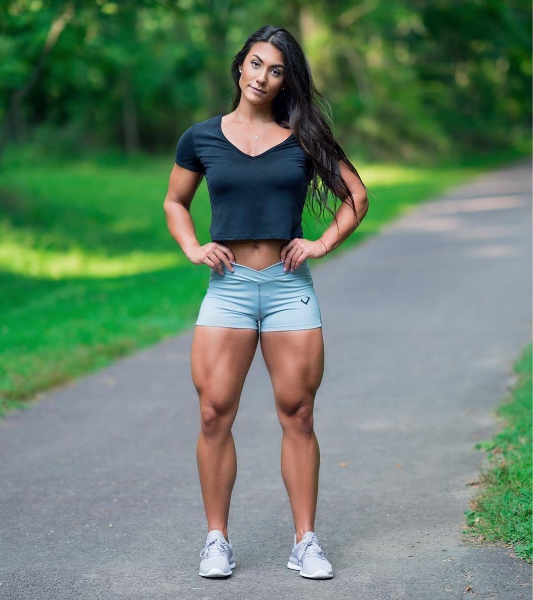 Pin On Fitness Women Muscle Girls