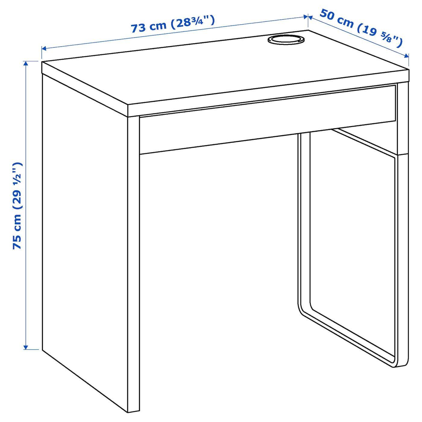 Micke Schreibtisch Weiss Ikea Osterreich In 2020 Micke Desk Ikea Micke Ikea Micke Desk