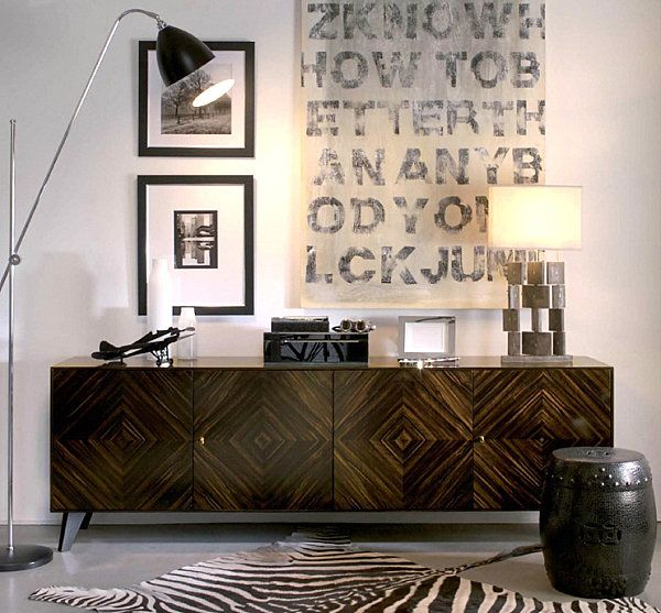 20 Modern Credenzas With Contemporary Flair  Credenza Diamond Pleasing Dining Room With Sideboard Decorating Design