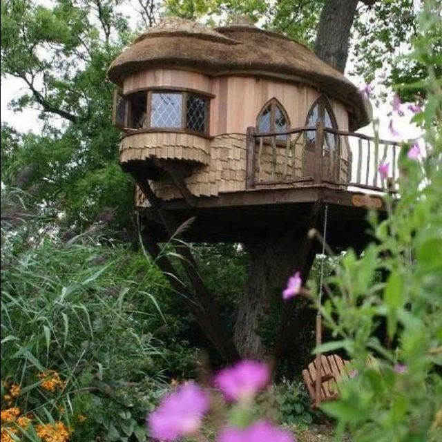 "A ""grown up's"" treehouse"