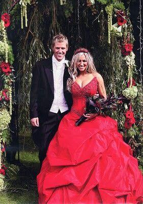 Jodie Marsh 1st September 2007 Famous Wedding Dresses Dresses Celebrity Weddings